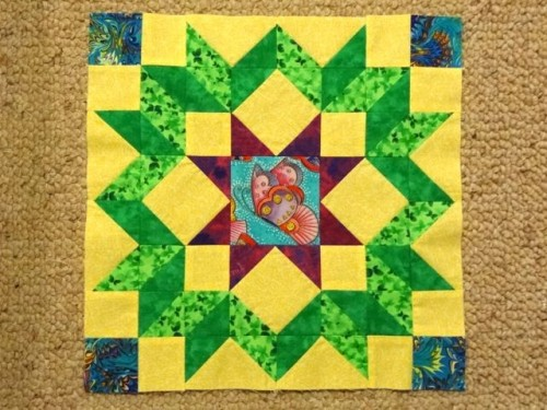 Dutch Rose Quilt block